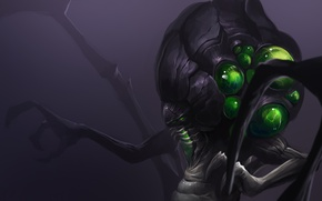 Picture starcraft, art, Heroes of the Storm, moba, Abathur
