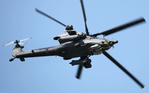 Wallpaper helicopter, the Russian air force, mi-28N, Havoс, Night hunter
