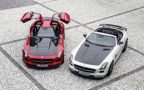 Picture Mercedes-Benz, AMG, SLS