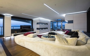 Picture design, style, interior, yacht, salon, Suite