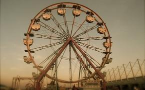 Wallpaper Wheel, joy, attraction