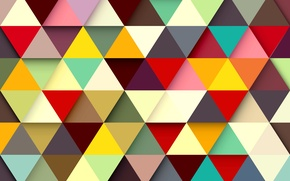 Wallpaper pattern, paint, texture, triangle