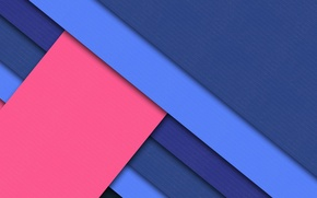 Picture blue, geometry, blue, pink, material, color, strip, design