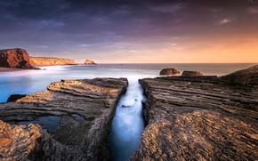Picture sea, landscape, rocks, coast