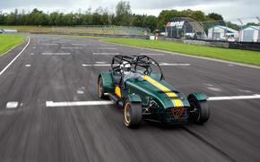 Picture track, stig, Caterham, the Stig, Superlight R600