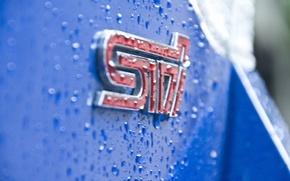 Picture emblem, subaru, sti