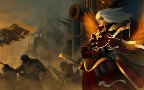 Picture war, Adept Sororitas, Sisters Of Battle, Warhammer 40K, sisters of battle, warhammer 40,000