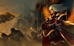 Picture war, Adept Sororitas, Sisters Of Battle, Warhammer 40K, sisters of battle, warhammer 40,000