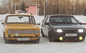 Picture winter, Lada, Lada, 2101, 2108, BPAN