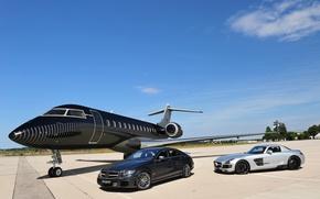 Picture Mercedes, Mercedes, Brabus, SLS, Mercedes, SLS, Aircraft