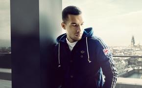 Wallpaper Lukas Podolski, Arsenal, German, Lukas Podolski, Arsenal, player