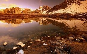 Wallpaper Lake, rocks, stones