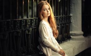 Wallpaper hair, lighting, girl, the beauty, curls, angels