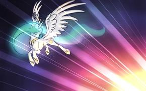 Picture light, background, figure, my little pony, pony, mlp, princess celestia
