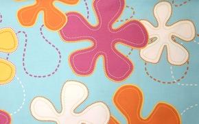 Picture color, pattern, spot, fabric, textiles, bright