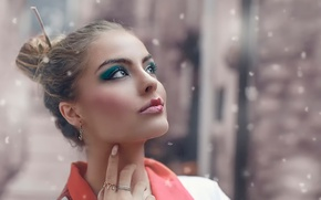 Picture girl, makeup, Alessandro Di Cicco, Princess of China