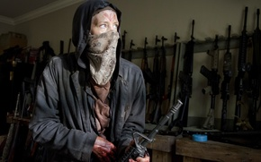 Wallpaper Carol, Wolf, The Walking Dead, Disguised