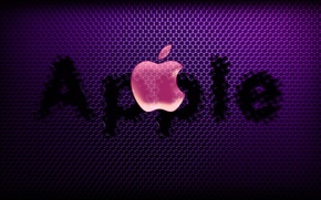 Wallpaper computer, text, apple, Apple, logo, mac, phone, laptop, emblem, gadget
