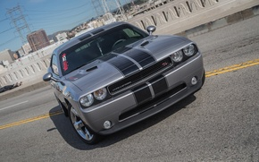 Picture Dodge, Challenger, bridge