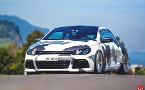 Picture Volkswagen, Vossen, on CVT, Scirocco r, by Eccentrical