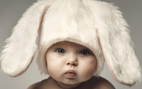 Picture Baby, Child, Bunny