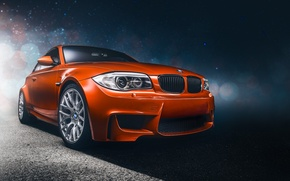 Picture Auto, BMW, Wheel, BMW, Orange, Lights, Car, Car, Front, Before, Sport, Sports