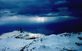 Wallpaper snow, Wallpaper, mountains, winter
