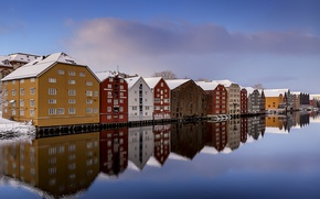 Picture Norway, Trondheim, Clear Winter