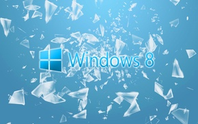 Picture windows, glass, computer, hi-tech, fragments, Wallpaper, operating system