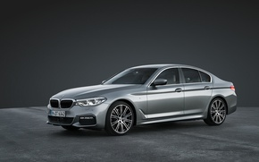 Picture BMW, Gray, 5 Series, Silver, 5, M Package