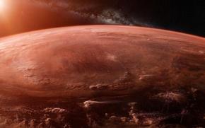Picture space, future, fiction, planet, stars, future, galaxy, space, stars, sci-fi, planet, galaxy, Scott Richard, orbital …