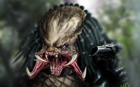 Picture predator, being, Predator