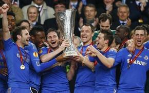 Picture Sport, Football, Football, Chelsea, 2013, The final, The UEFA Europa League, Chelsea Football Club, Amsterdam …
