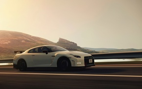 Picture nature, speed, track, Nismo, Nissan gt-r