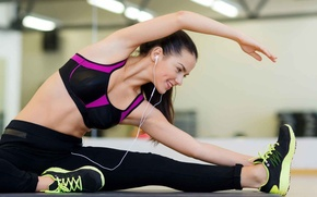 Picture pose, fitness, gym, elongation