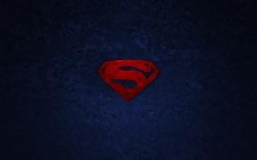 Picture background, logo, symbol, superman, Superman, superhero
