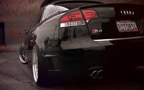 Picture Audi, Audi, black, black, sline