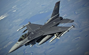 "Picture flight, fighter, American, F-16, Fighting Falcon, generation, multipurpose, fourth, ""Fighting Falcon"""