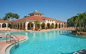 Picture the city, style, Villa, pool, architecture