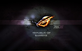 Picture republic of gamers, asus rog, zona 33