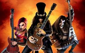 Picture the game, guitar, guitar hero, guitar hero 3, rockers