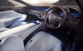 Picture car, Concept, Lexus, salon, LF-FC