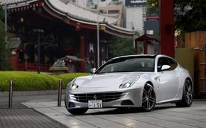 Picture grey, coupe, ferrari, Ferrari