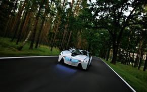 Wallpaper Forest, Vision, BMW, The concept