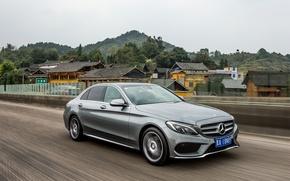 Wallpaper Mercedes-Benz, Mercedes, AMG, AMG, C-Class, W205