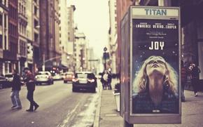 Picture new york city, manhattan, Jennifer Lawrence, Joy, Uptown Girl