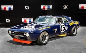 Picture Chevrolet, Camaro, Chevrolet, 1967, Camaro, Race Car, Z28, Sunoco, Penske