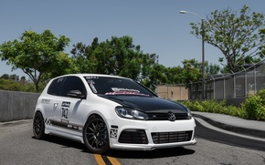 Picture Volkswagen, Corsa, Golf, Exhaust, The dealership, Boden