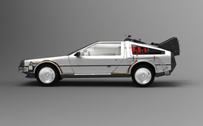 Picture car, the film, car, time machine, back to the future, Delorean, Back to the future, …