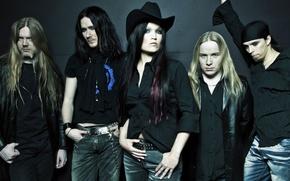 Picture Nightwish, Tarja Turunen, Emppu Vuorinen, Symphonic power metal, Marco Hietala, Tuomas Holopainen, Jukka Nevalainen